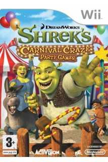 Shrek's Carnival Craze Party Games [Wii]