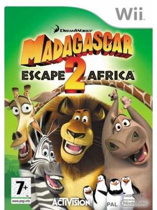Madagascar Escape 2 Africa [Wii]