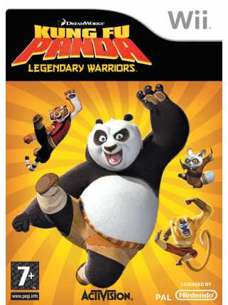 Kung Fu Panda Legendary Warriors [Wii]