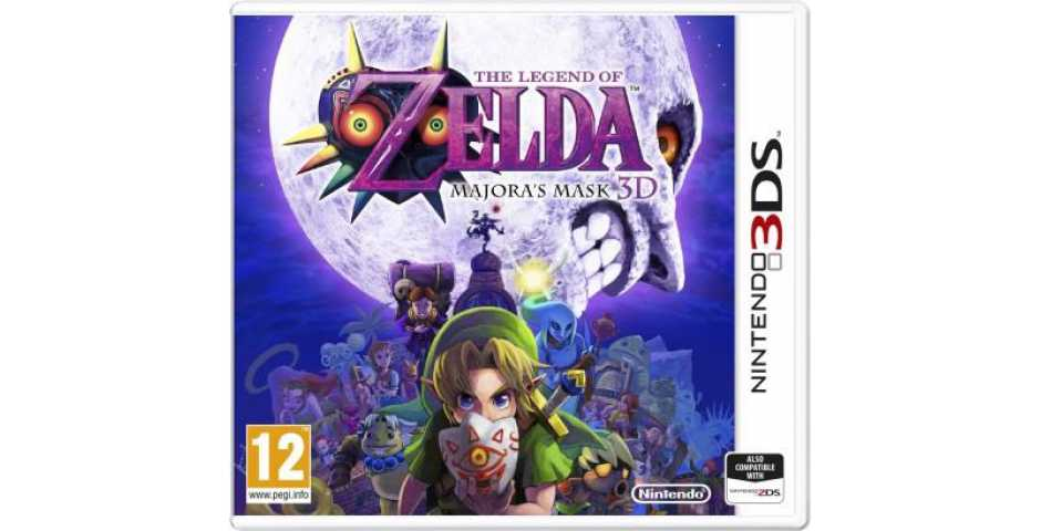 The Legend of Zelda Majora's Mask [3DS]