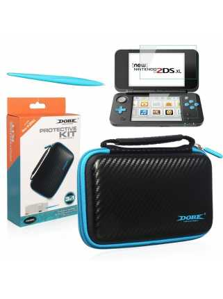 DOBE Protective Kit 3 в 1 для New Nintendo 2DS XL/LL
