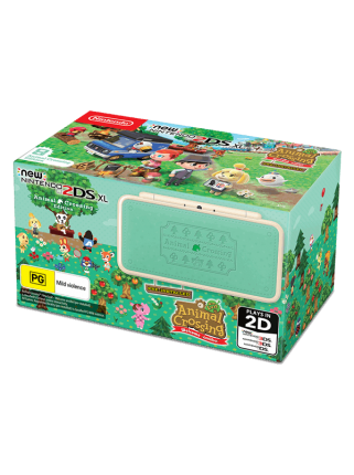 New Nintendo 2DS XL Animal Crossing Edition. Ограниченное издание