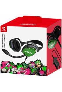 Гарнитура HORI Nintendo Switch Splatoon 2 Splat & Chat Headset [Switch]