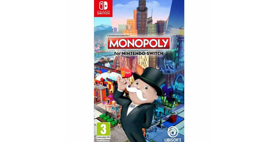 Nintendo Switch - Monopoly [Nintendo Switch, русская версия]