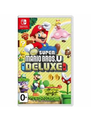 New Super Mario Bros. U Deluxe [Switch, русская версия]