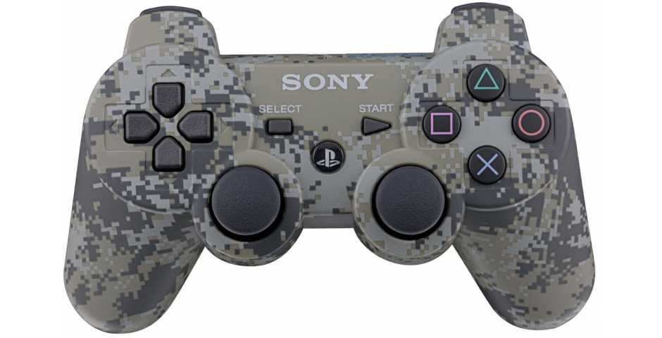Wireless Controller Camouflage (Камуфляжный) [PS3]