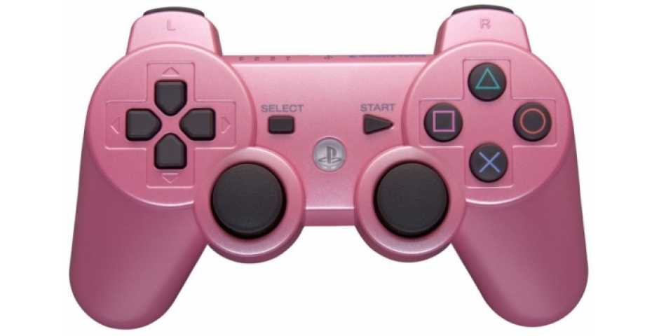 Wireless Controller Candy Pink (Розовый) [PS3]