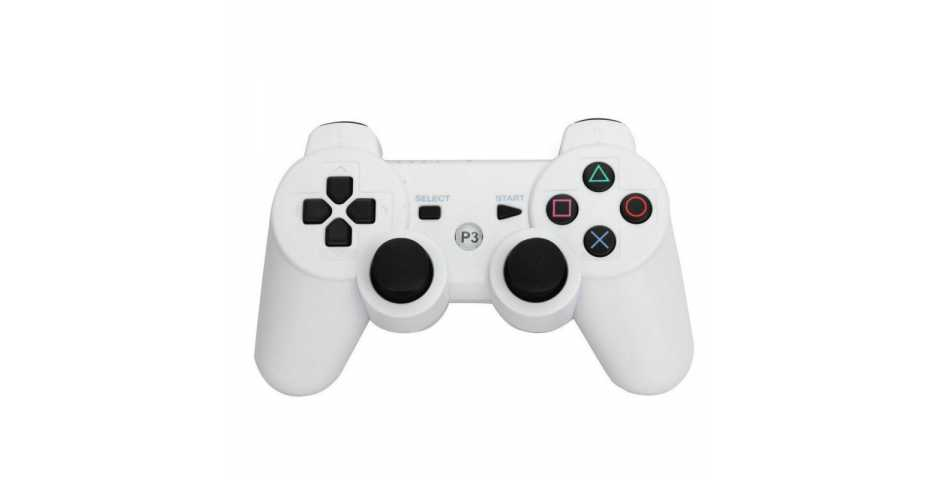 Wireless Controller Ceramic White (Белый) [PS3]