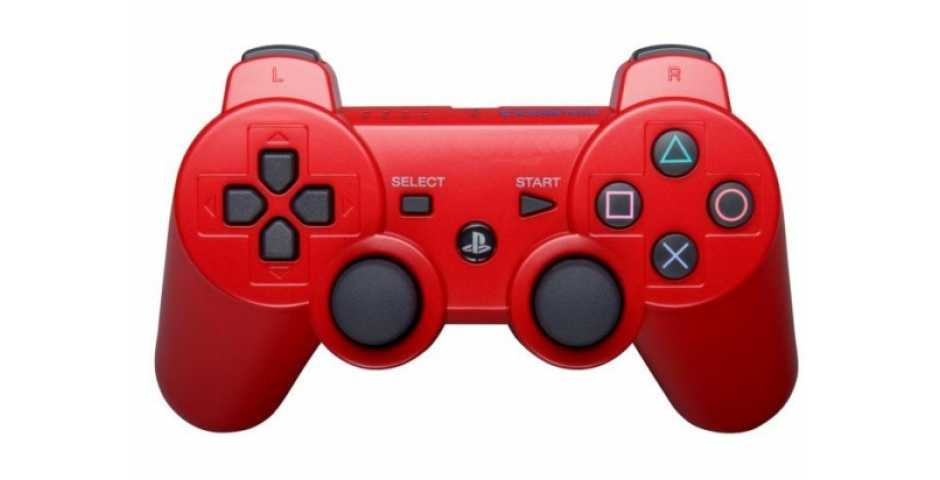 Wireless Controller Red (Красный) [PS3]