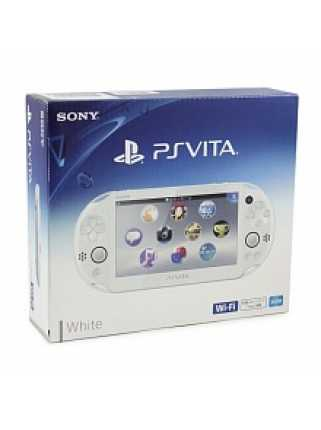 Sony PlayStation Vita Slim Wi-Fi White [PSVita, белая]