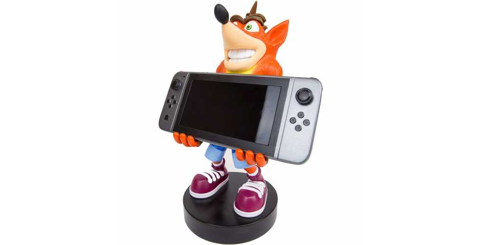 Держатель Crash Bandicoot XL Cable Guy — Controller and Device Holder