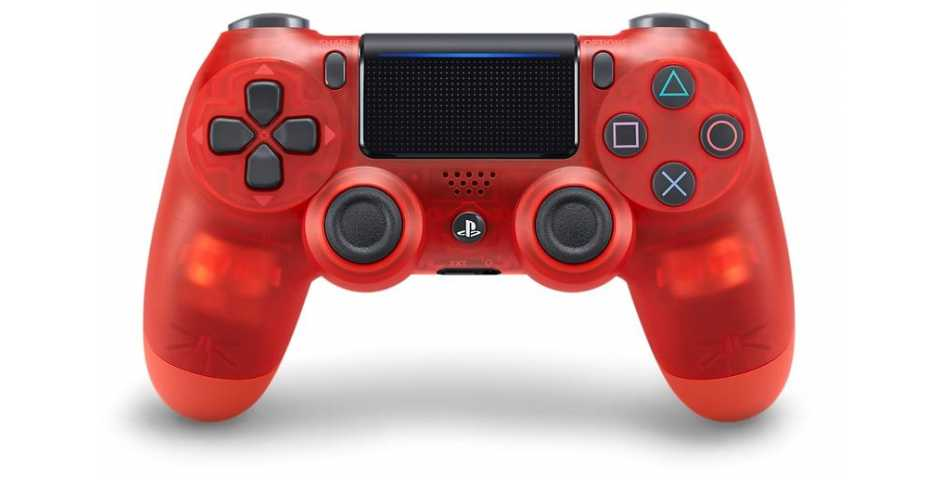 Геймпад DUALSHOCK 4 v2 (Red Crystal)