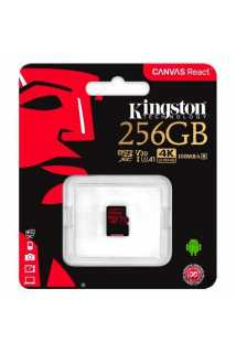 Карта памяти Kingston Canvas React microSDXC [256GB]