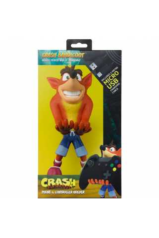 Phone & Controller Holder Cable Guys - Crash Bandicoot