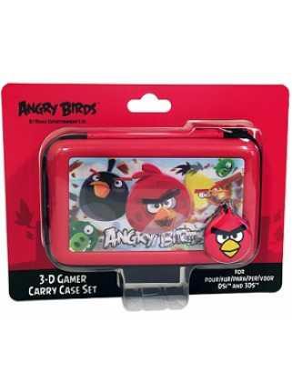 Чехол для приставки Nintendo 3DS DSI ANGRY BIRDS (красный)