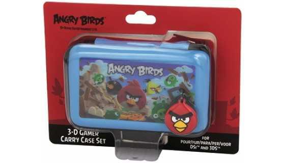 Чехол для приставки Nintendo 3DS DSI ANGRY BIRDS (синий)