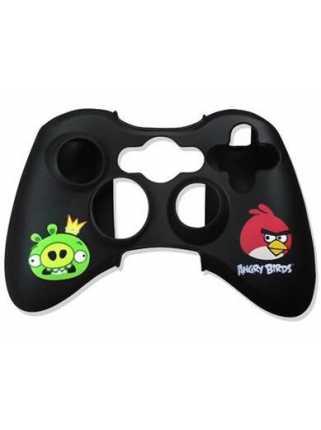 Чехол на джойстик Xbox 360 ANGRY BIRDS (черный)