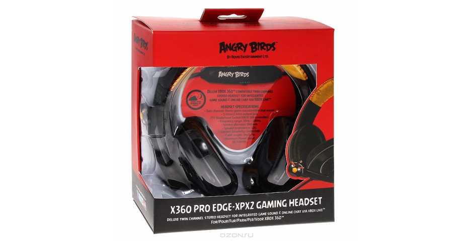 Игровая гарнитура Angry Birds Xbox 360 Pro EDGE-XPX2