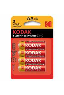 Батарейки Kodak Super Heavy Duty ZINC (AA, 4 шт)