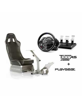 Playseat Evolution Black + Thrustmaster T300 RS GT Edition