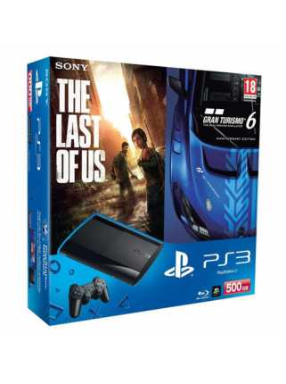 Sony PlayStation 3 (500 ГБ) + Gran Turismo 6 + The Last of Us