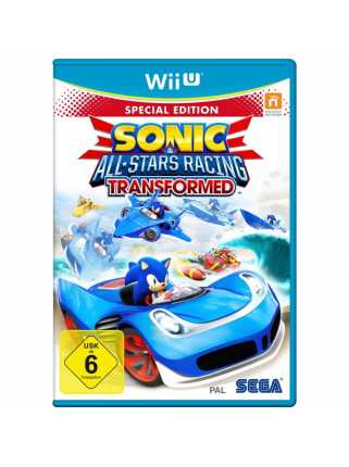 Sonic & All-Star Racing Transformed. Limited Edition [WiiU]