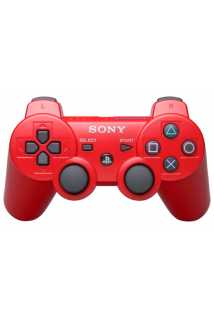 Беспроводной контроллер DualShock 3 Красный  (Уцененный)