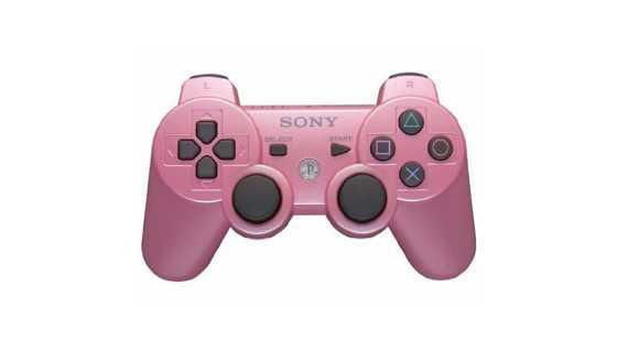 Беспроводной контроллер DualShock 3 Розовый  (Уцененный)