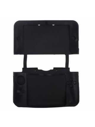 Силиконовый чехол (Nintendo New 3DS XL) (Black)