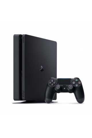 Sony PlayStation 4 Slim (500ГБ), черная