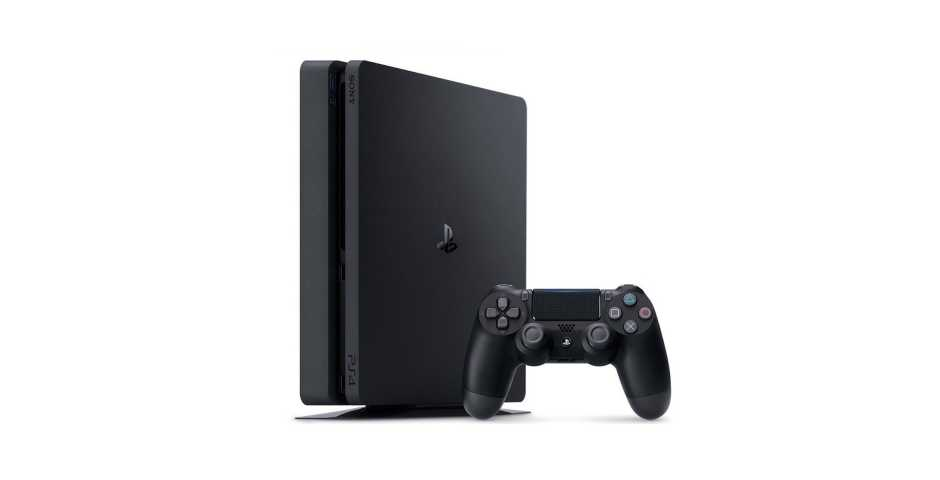 Sony PlayStation 4 Slim (500 ГБ), черная