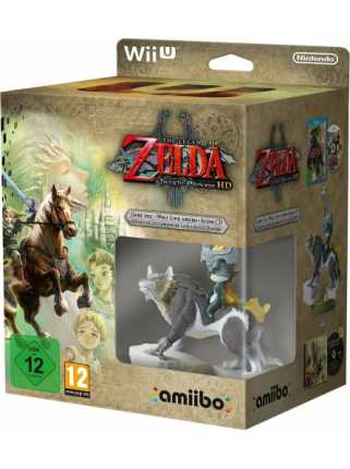 Комплект игра The Legend of Zelda: Twilight Princess HD + Amiibo: Wolf Link [WiiU]
