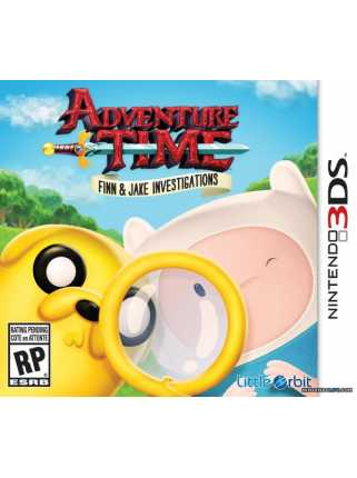 Adventure Time: Finn and Jake Investigations [3DS]