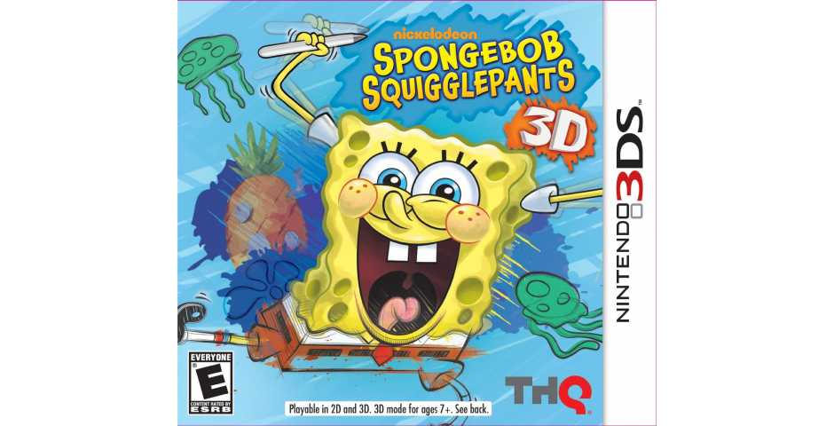 SpongeBob Squigglepants [3DS]