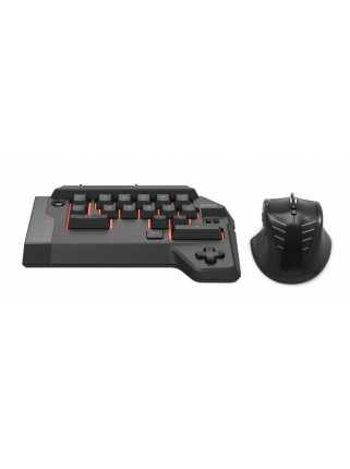 Hori Tactical Assault Commander 4: мини-клавиатура и мышь [PS4]