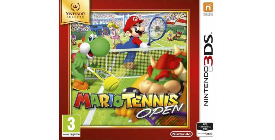 Mario Tennis Open (Nintendo Selects) [3DS]