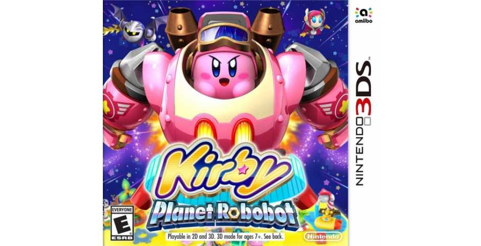 Kirby: Planet Robobot [3DS]