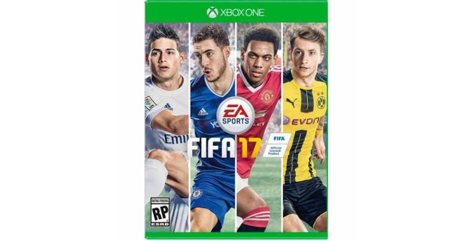 FIFA 17 код на загрузку