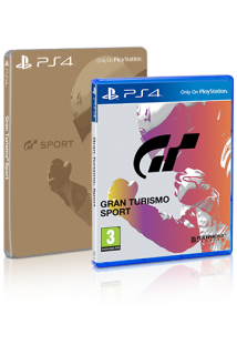 Gran Turismo Sport Steelbook Edition [PS4]