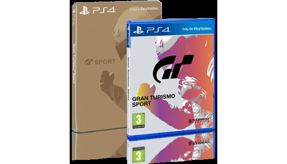 Gran Turismo Sport Steelbook Edition