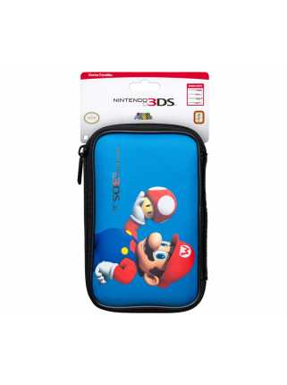 Чехол для Nintendo 3DS XL Марио Гриб  ( синий )