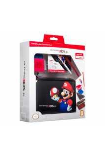 Набор для Nintendo 3DS Марио Гриб (черный)