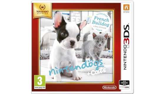 Nintendogs+cats: Французский бульдог и новые друзья (Nintendo Selects) [3DS]
