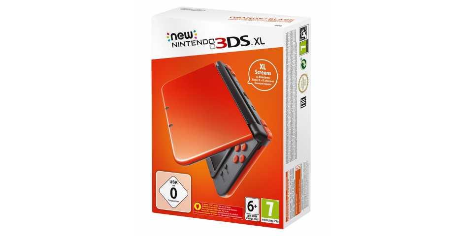 New Nintendo 3DS XL (оранжево-чёрный)