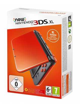 New Nintendo 3DS XL (оранжево-чёрный) (USED)
