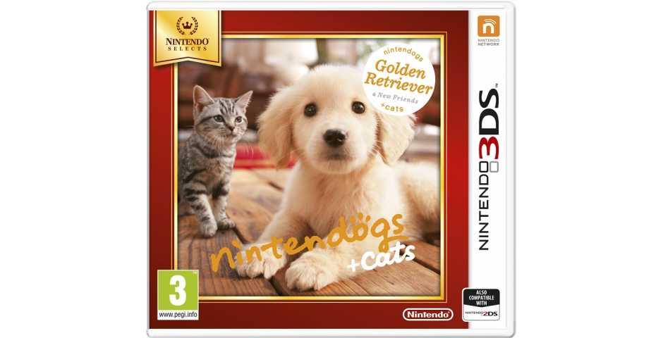 Nintendogs+cats: Голден-ретривер и новые друзья (Nintendo Selects) [3DS]