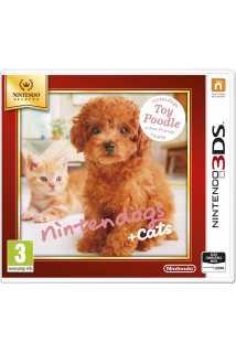 Nintendogs+cats: Карликовый пудель и новые друзья (Nintendo Selects) [3DS]