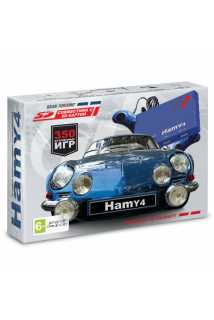 "Sega - Dendy ""Hamy 4"" (350-in-1) Gran Turismo Blue"