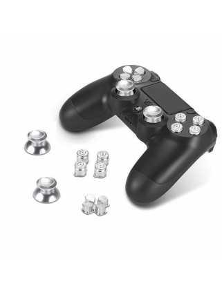 Стики цветные серебряные (металл) 7 в 1 [PS4]