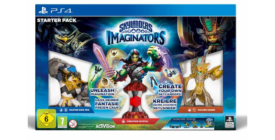 Skylanders Imaginators (стартовый набор)